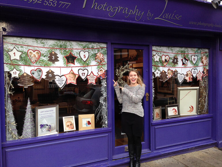 Look who's in our Window!